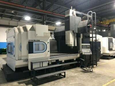 "1 – USED 120"" X 80"" VIPER CNC DOUBLE COLUMN BRIDGE MILL"