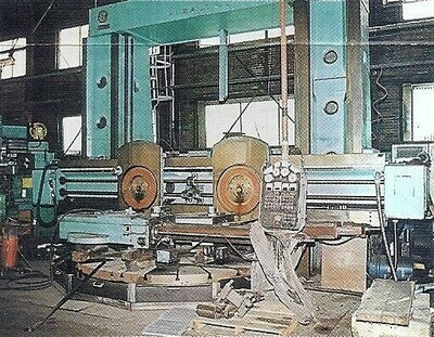 "1 – USED 138/120"" SKODA MANUAL/CNC VERTICAL BORING MILL"