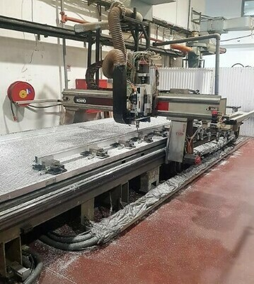 ​1 - USED 6' X 24' KOMO MACH ONE GT 624 CNC ROUTER