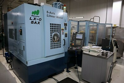 "1 - USED 12.92"" X 7.87"" MATSUURA 5-AXIS CNC VERTICAL MACHINING CENTER"