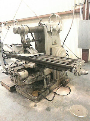 1 – USED MODEL 4H KEARNEY & TRECKER PLAIN HORIZONTAL MILLING MACHINE