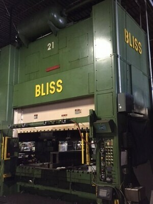 1 - USED 300 TON BLISS SSDC PRESS