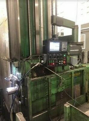 """1 - USED 6"""" GIDDINGS AND LEWIS CNC FLOOR TYPE HORIZONTAL BORING MILL"""