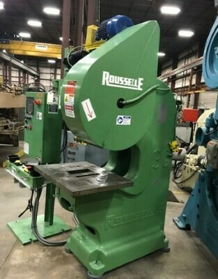 ​1 – USED 25 TON ROUSSELLE DEEP THROAT PRESS