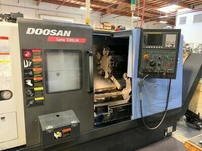 """1 - USED 20.1"""" X 20.7"""" DOOSAN CNC TURN/MILL CENTER"""