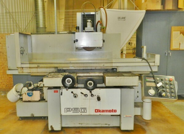 "1 - USED OKAMOTO 16"" X 32"" 3-AXIS AUTOMATIC HYDRAULIC SURFACE GRINDER"