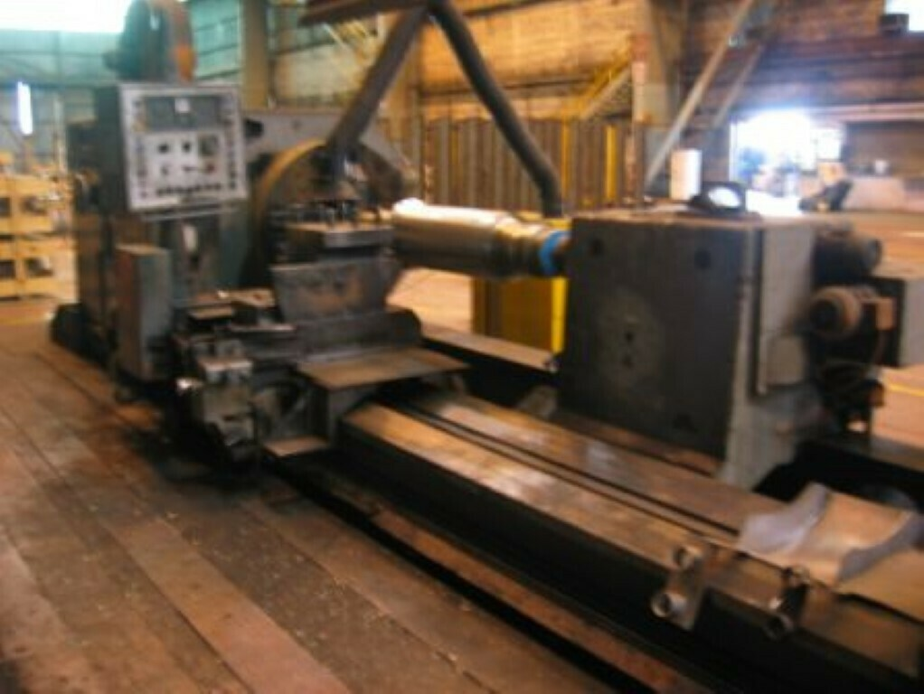 "1 – USED 55"" X 250"" HERKULES SUPER HEAVY DUTY MANUAL LATHE"