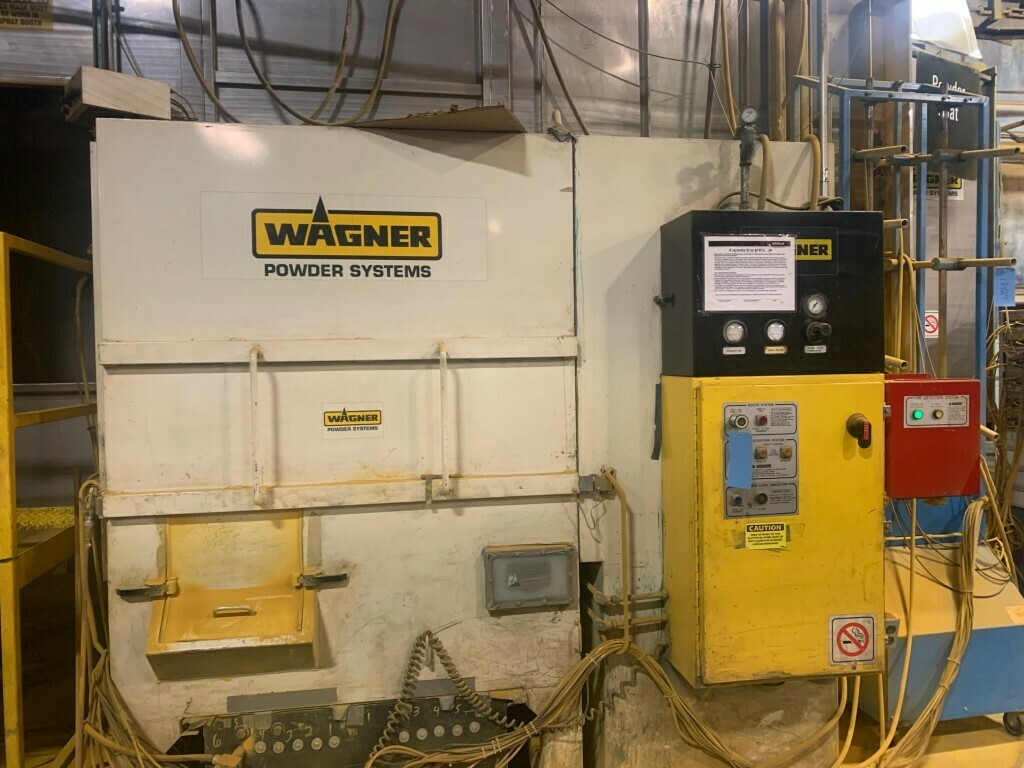 1 - USED WAGNER POWDER COAT PAINT SYSTEM