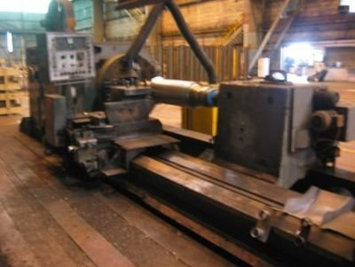 "1 – USED 55"" X 250"" HERKULES SUPER HEAVY DUTY MANUAL OR CNC LATHE"