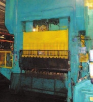 1 - USED 300 TON BLISS STRAIGHTSIDE DOUBLE CRANK  POWER PRESS