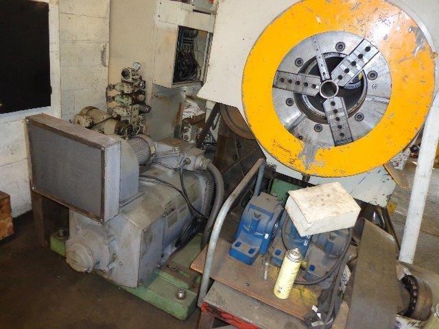 "1 – USED 43"" X 157"" OKUMA CNC FLAT BED OIL COUNTRY LATHE"