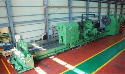 "1 – USED 110"" X 433"" INNSE (ITALY) CNC FLAT BED LATHE"