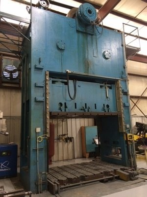 1 – USED 300 TON DANLY 4-POINT ECCENTRIC DRIVE POWER PRESS