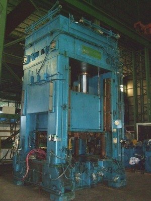 1 – USED 500 TON P.H. HYDRAULICS, HYDRAULIC PRESS