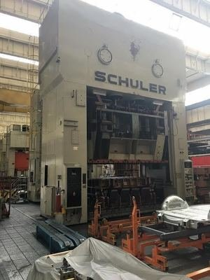 1 – USED 1200/600 TON SCHULER DOUBLE ACTION MECHANICAL PRESS