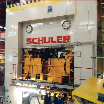 1 – USED 1000 TON SCHULER DOUBLE ACTION PRESS