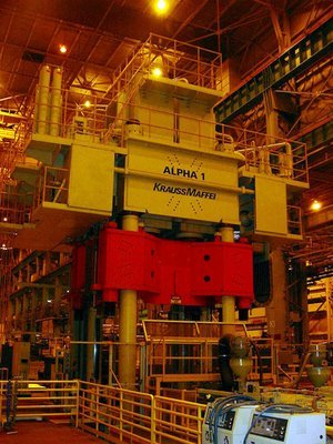 1 – USED 5,500 TON DIEFFENBACHER HYDRAULIC PRESS