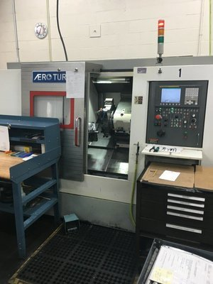 1 – USED AERO-TURN BT-380 2-AXIS CNC TURNING CENTER