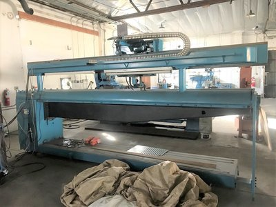 1 – USED 12' LONGITUDINAL SEAM WELDER