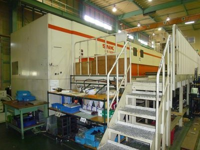 ​1 – USED SNK HPS120B-5 5-AXIS MACHINING CENTER