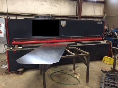 "1 – USED ¼"" X 12' ADIRA HYDRAULIC SHEAR"