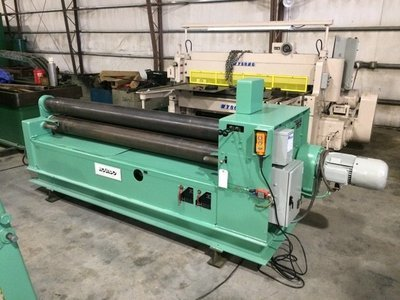 "1 – USED 6' X ¼"" ROUNDO HYDRAULIC PLATE BENDING ROLL"