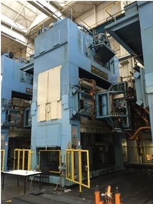 1 – USED 1,100 TON WEINGARTEN VK 1000.43.85 PRESS LINK DRIVE