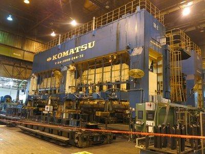 1 – USED 3,000 TON KOMATSU TRANSFER PRESS