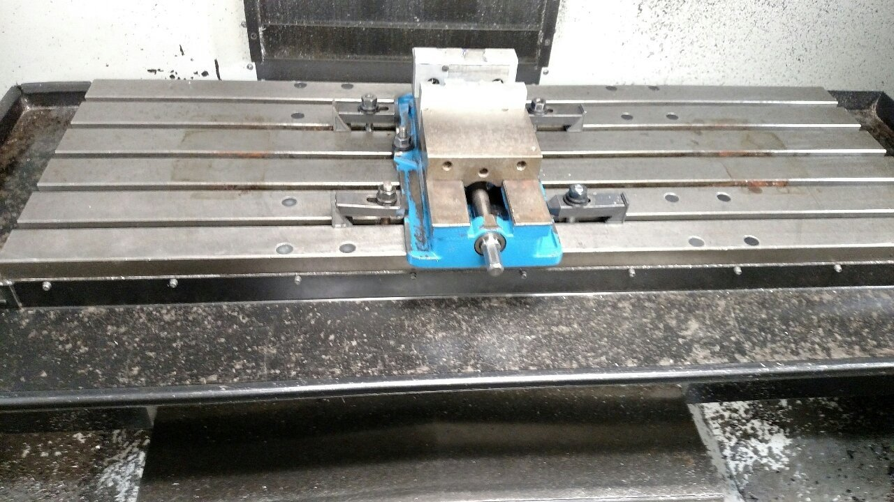 1 – USED HAAS VF4-SS VERTICAL MACHINING CENTER