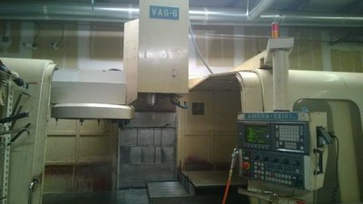 ​1 – USED AMERA SEIKI VAS-6 FULL CONTOURING 4-AXIS VERTICAL MACHINING CENTER