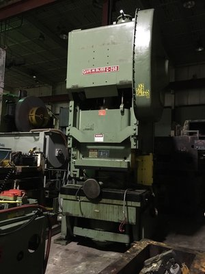 ​1 – USED 250 TON BLISS OBI POWER PRESS