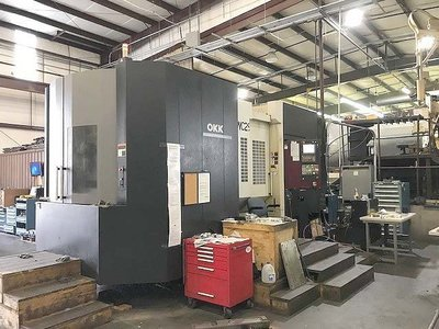 1 – USED OKK MH-1000S HORIZONTAL MACHINING CENTER