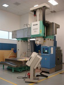 1 – USED OKADA MM 1524 CNC 5-AXIS BRIDGE TYPE MACHINING CENTER