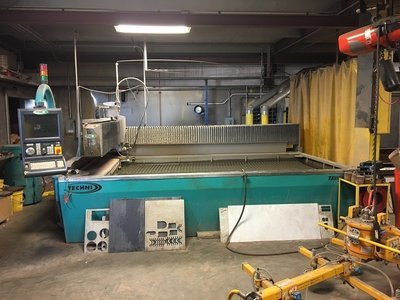 ​1 – USED 5' X 10' TECHNI WATERJET