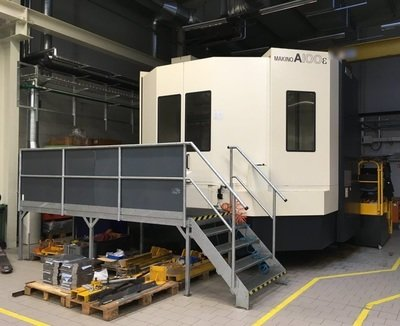 2 – USED MAKINO A100e-A132 HORIZONTAL MACHINING CENTER