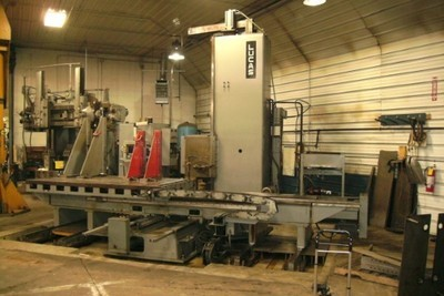 """1 – USED 5"""" LUCAS 4-AXIS HORIZONTAL BORING MILL"""