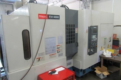 ​1 – USED MAZAK FH-4800 CNC HORIZONTAL MACHINING CENTER