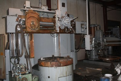 """1 - USED 56"""" BULLARD """"CUTMASTER"""" VERTICAL BORING MILL WITH TRACER"""