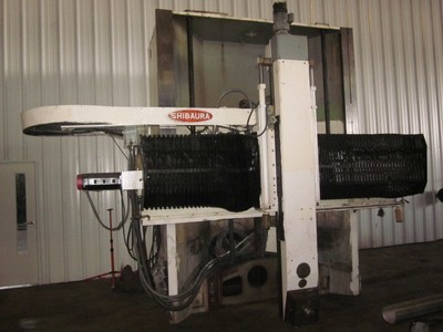 1 – USED TOSHIBA SHIBAURA CNC HIGH COLUMN VERTICAL TURRET LATHE