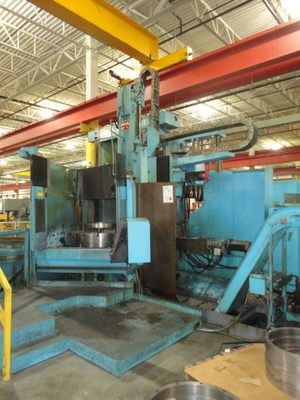 "1 – USED 60"" VLN 14 MONARCH/MORANDO CNC VERTICAL TURRET LATHE"