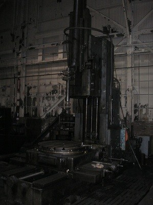 """1 – USED 36"""" ROCKFORD HYDRAULIC VERTICAL SLOTTER"""