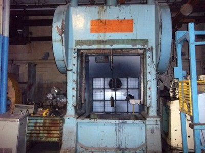 1 - RECONDITIONED MINSTER 175 TON SSDC POWER PRESS