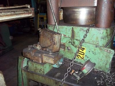 1 – USED 1,000 TON MODERN 4-POST UP-ACTING HYDRAULIC HOBBING PRESS