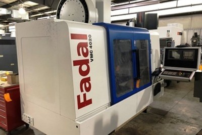 ​1 – USED 4020HT FADAL VERTICAL MACHINING CENTER