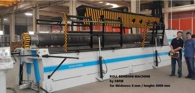 1 – NEW 3R SBS 3090 HYDRAULIC BENDING ROLL
