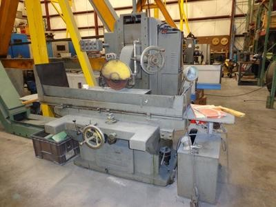 """1 - USED 16"""" x 36"""" GALLMEYER & LIVINGSTON HYDRAULIC FEED HORIZONTAL SPINDLE SURFACE GRINDER"""