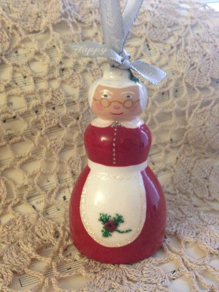 Mrs Claus Christmas Decoration