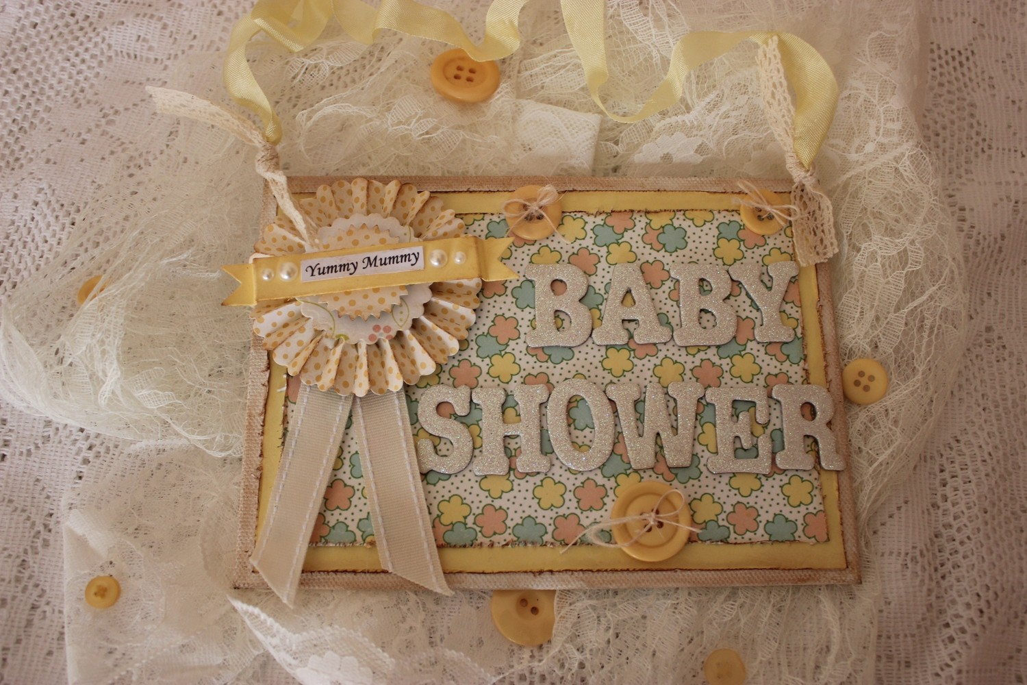 Baby Shower Sign