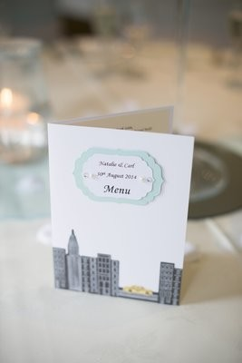 Couture Collection - New York/Breakfast at Tiffany's Menu