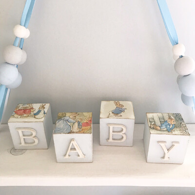 Beatrix Potter Collection Wooden Blocks